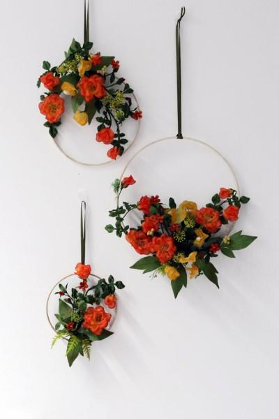 Blumenring Rosengarten 3er-Set
