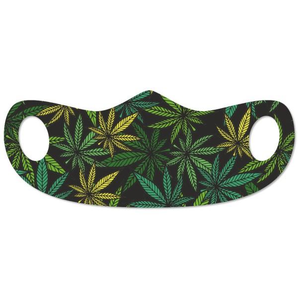 Mund- und Nasenmaske Cannabis