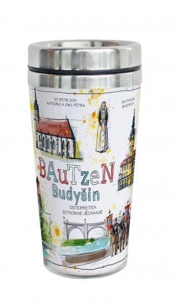 Bautzen - Fineart: Coffee-to-go-Becher