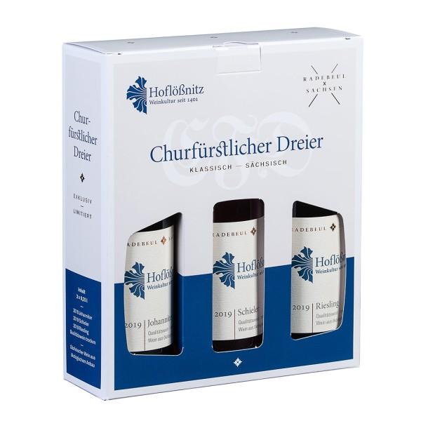 Churfürstlicher Dreier Jahrgang 2019 – Set mit 3 Qualitätsweinen