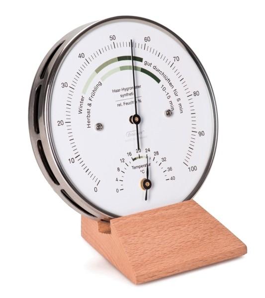 Wohnklima- Hygrometer mit Thermometer