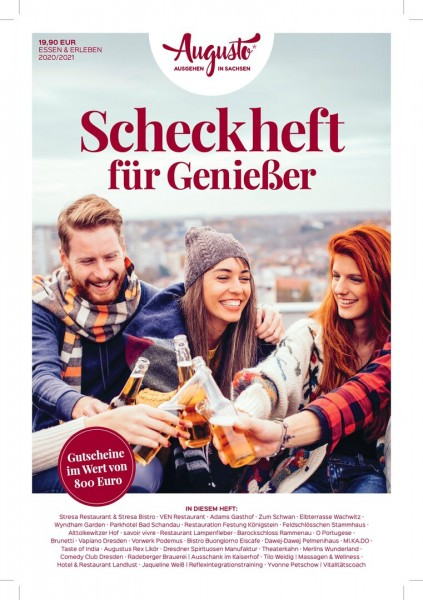 Augusto Scheckheft 2020/21 - Dresden & Umgebung