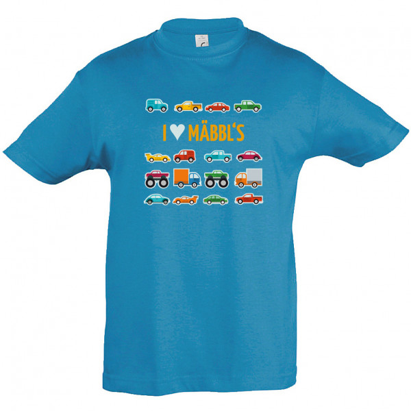 "Kinder-T-Shirt ""I love Mäbbl´s"""