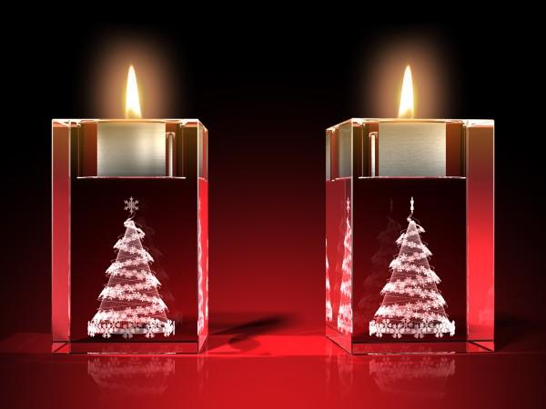 Advents-Teelicht Weihnachtsbaum