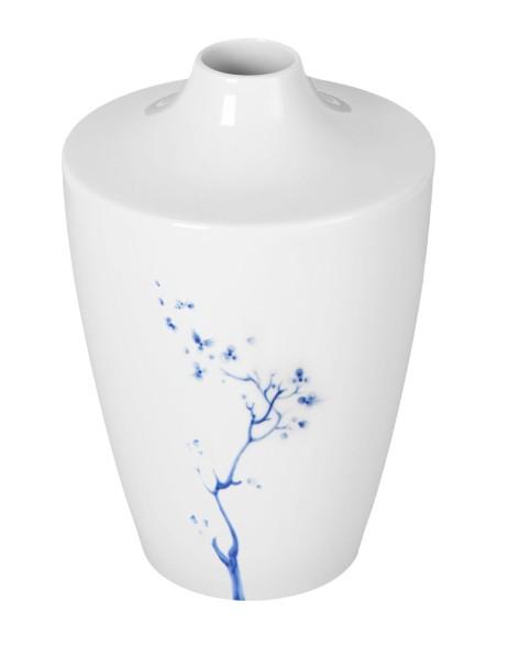 DDV Lokal Exklusiv - Meissener Porzellan - Vase Blue Orchid - 19