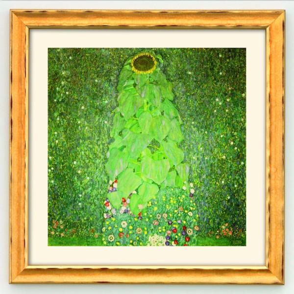 Gustav Klimt: Bild Die Sonnenblume (1907)