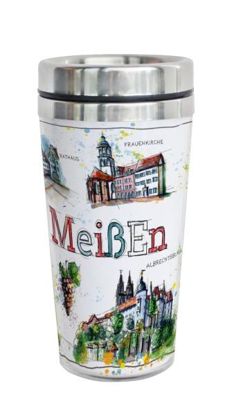 Meißen - Fineart: Coffee-to-go-Becher