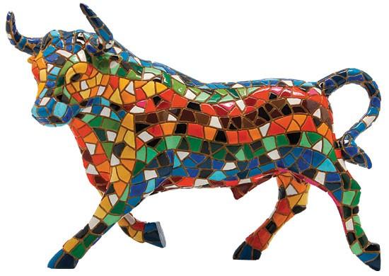 Mosaikfigur El Toro Mosaico