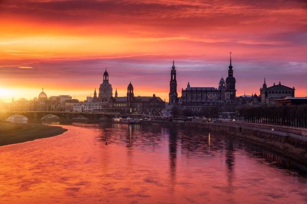 Wandbild Dresden (Motiv 00768)