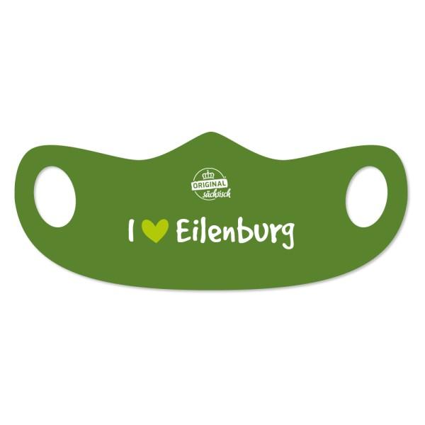 Mund- u. Nasenmaske I love Eilenburg
