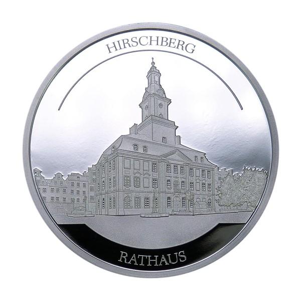 Sonderprägung Feinsilber 2021 – Schlesien Sammeledition – Rathaus Hirschberg