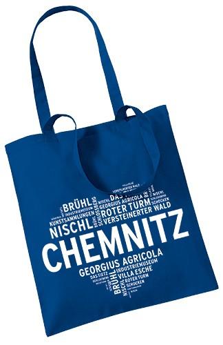 Stoffbeutel Chemnitz - Herz
