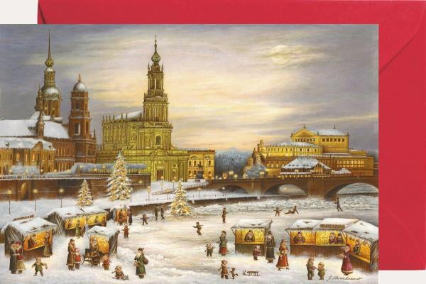 Mini-Adventskalender - Dresden Hofkirche