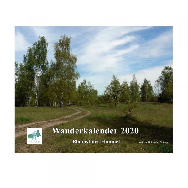 Wanderkalender 2020 – Blau ist der Himmel