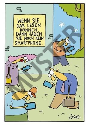 """Postkarte """"Smartphone"""""""