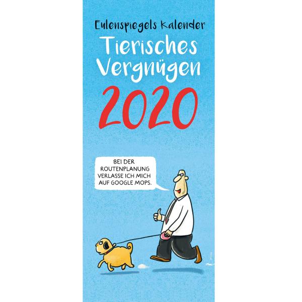 Eulenspiegels Kalender 2020 - tierisches Vergnügen