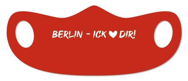 Mund- und Nasenmaske Berlin - Berlin – ick <3 dir!