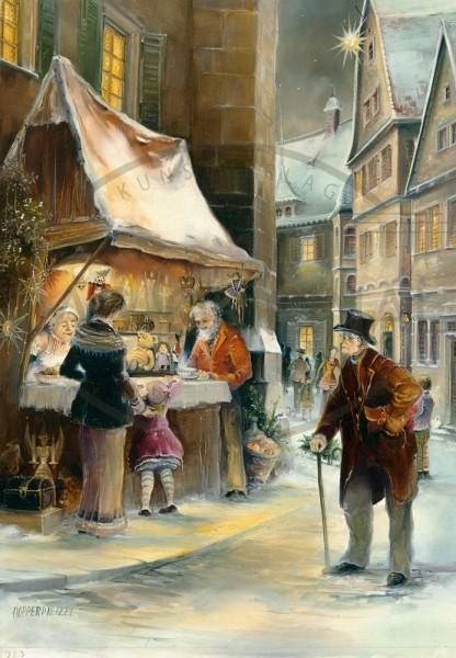 Adventskalender - Weihnachtsbude