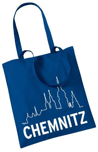 Stoffbeutel Chemnitz - Silhouette