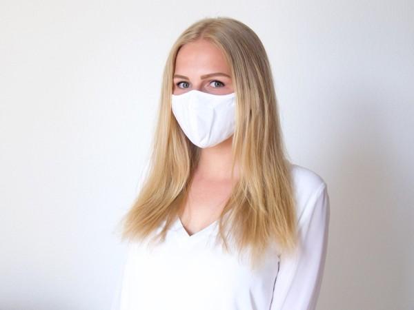 5er Set - Seidensticker Mund-Nasen-Maske