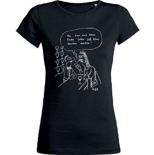 Damen-Shirt Premium Man kann auch keine Kinder...