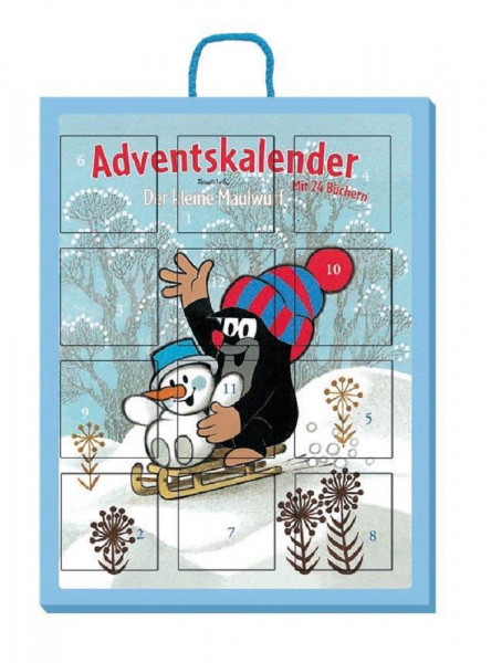 Adventskalender Maulwurf - Mini-Bücher