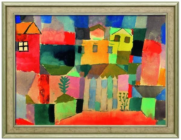 "Paul Klee: Bild ""Häuser am Meer"""