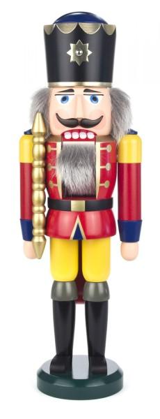 Dregeno Nussknacker König rot-gelb, 39cm
