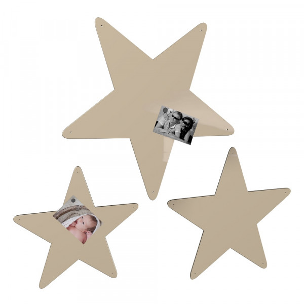 Magnetwand Sterne 3er-Set