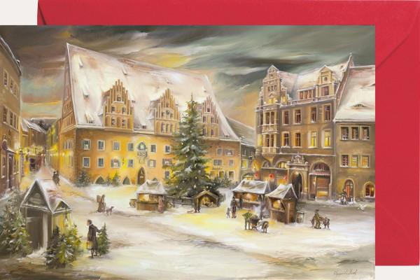 Mini-Adventskalender - Meißen Rathaus