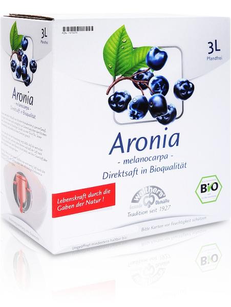 Bio Aroniasaft 3 Liter - Kelterei Walther