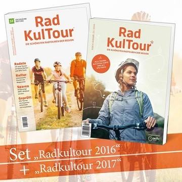 """2 für 1-Angebot """"RadKulTour 2017 + 2016"""""""