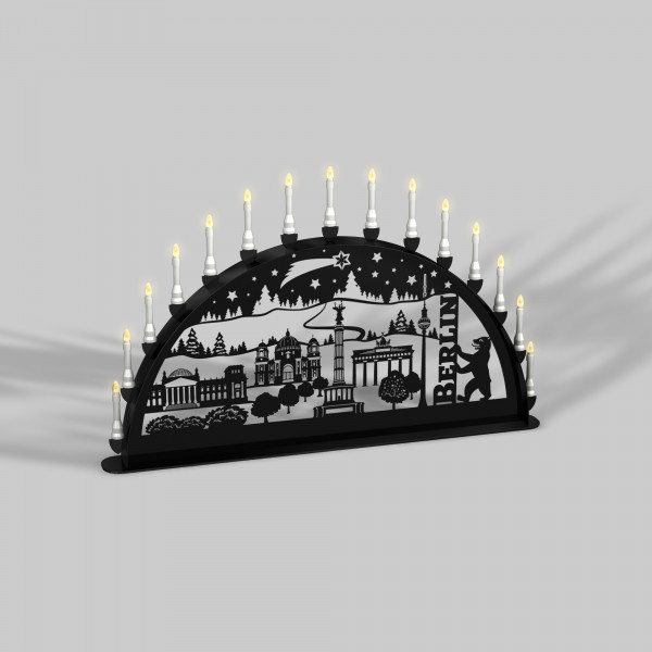 Schwibbogen Berlin - 15er Lichterkette