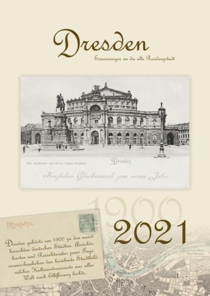 Dresden - Erinnerungen an die alte Residenzstadt 2021