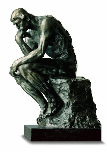 """Auguste Rodin: Skulptur """"Der Denker"""""""