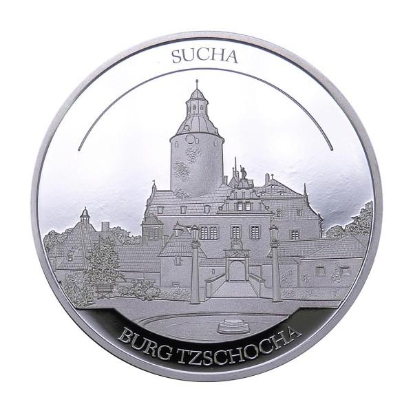 Sonderprägung Feinsilber 2021 – Schlesien Sammeledition – Burg Tzschocha