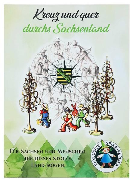 Kreuz und Quer durchs Sachsenland