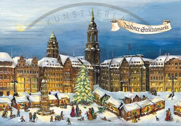 Adventskalender - Dresdner Striezelmarkt