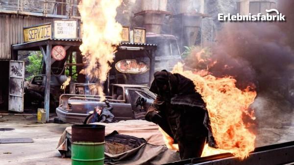 Stuntman für einen Tag in Babelsberg