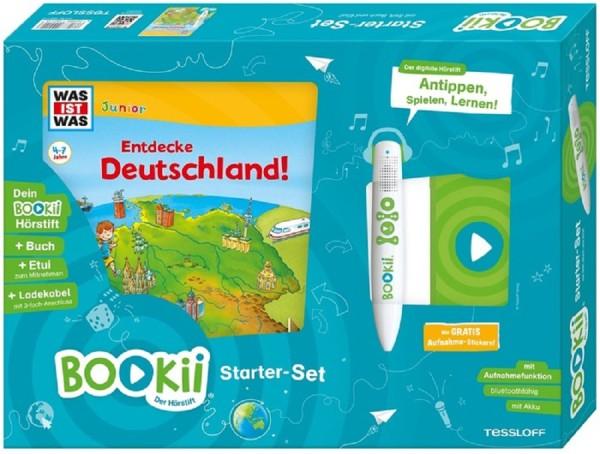 BOOKii® Starter-Set WAS IST WAS Junior Entdecke Deutschland!
