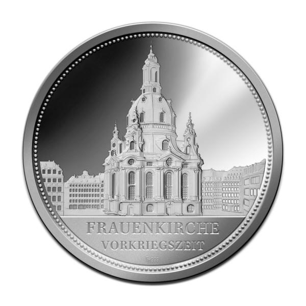 Sonderprägung Feinsilber - Dresden - Vorkriegszeit