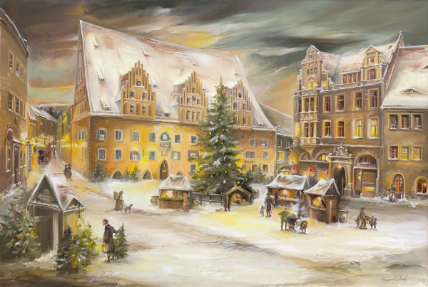 Adventskalender - Meißen Rathaus