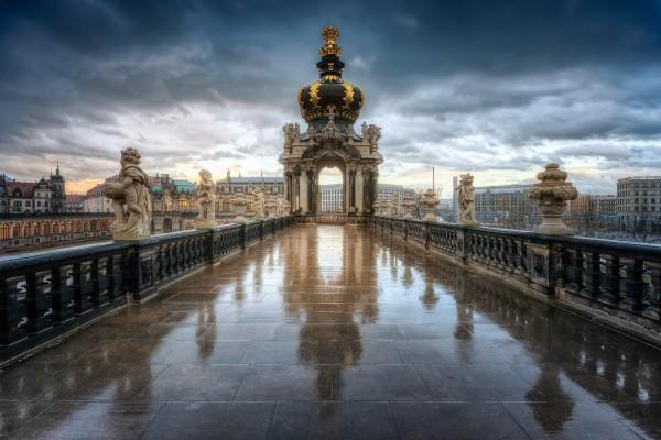 Wandbild Dresden (Motiv 00677)