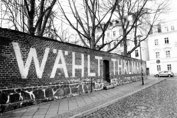 "Wandbild Görlitz - Alte Filmkulisse vom Film ""Ernst Thälmann"" (Motiv RB04)"
