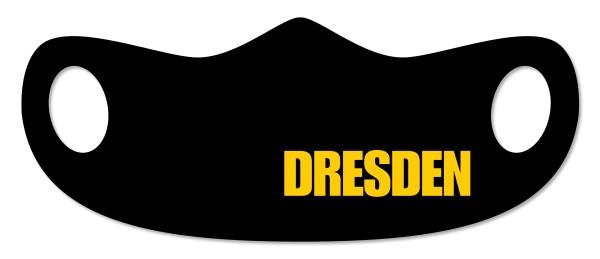 """Mund- und Nasenmaske """"Dresden"""" schwarz"""