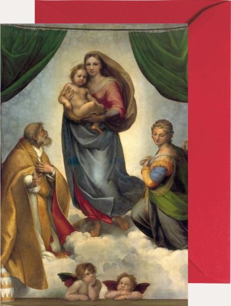 Mini-Adventskalender - Sixtinische Madonna