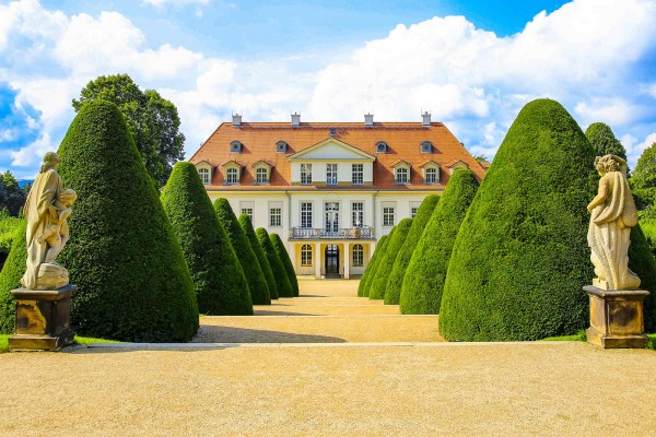 Wandbild Radebeul - Schloss Wackerbarth (Motiv DMRAD44)