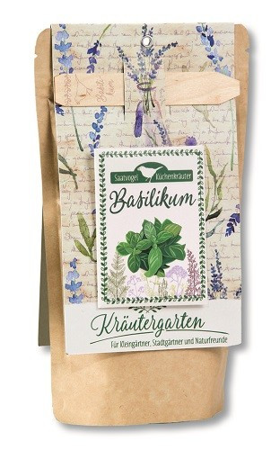 Saatvogel Küchenkräuter - Basilikum