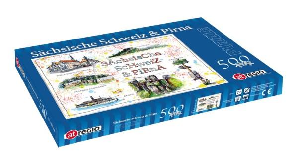 Sächsische Schweiz - Fineart: Puzzle