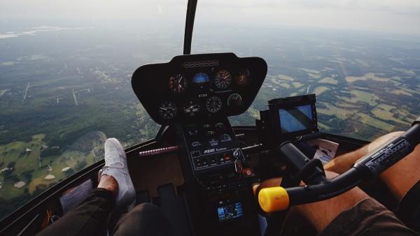 Hubschrauber Rundflug über Leipzig